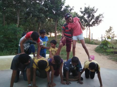 Human Pyramid | Aarohi Life Education